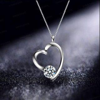 S925 Silver Love Of My Life Necklace