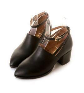 amai 小文青復古瑪莉珍踝靴 37號 可搭dresseum Marjorie