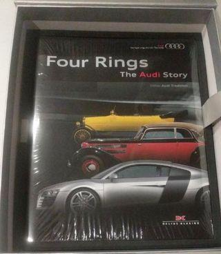🚚 Four Rings - The Audi Story (Hard Cover)