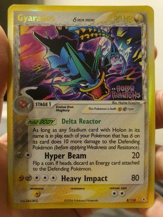 Pokemon Trading Card (Reverse Holo Gyrados)