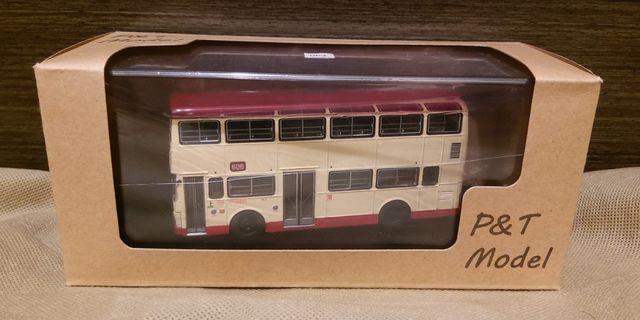 1:76 巴士模型 P&T MCW Metrobus 9.7M 路線 606