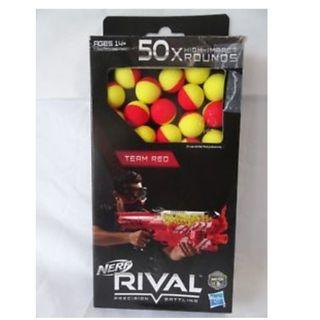 Nerf Rival 50-Round Refill, Yellow-Red, New