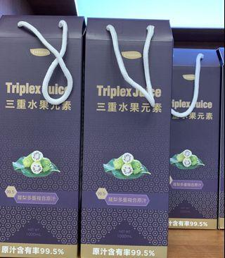 健康飲品 - (諾麗果酵素汁)三重水果元素® 排毒果汁