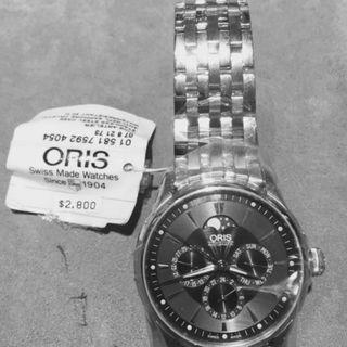 BNIB Oris Artelier Complication Metal Bracelet