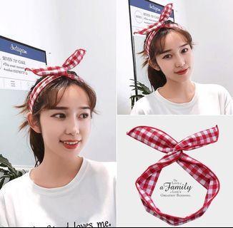 [INSTOCK/WTS] Korean Ulzzang Style Self Tie Headband Hairband