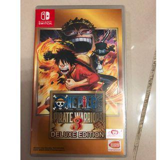 Nintendo Switch One Piece Pirate Warriors 3 Deluxe