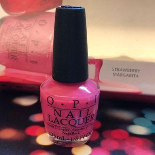 OPI Nail Lacquer 指甲油 NL M23 (Strawberry Margarita) Nail polish 💅🏻 3.75ml