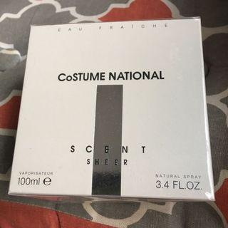 Costume National scent sheer 香水全新