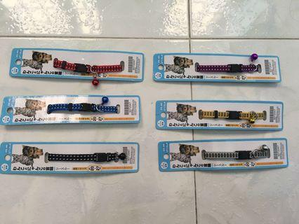 HOT SELLING!!!! Colour Cat Collars