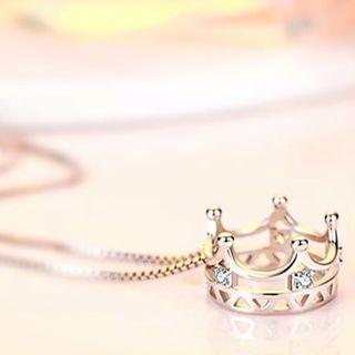 S925 Silver My Crown Princess Necklace