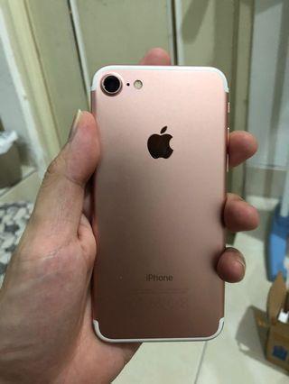 iPhone 7 128Gb rose gold singapore