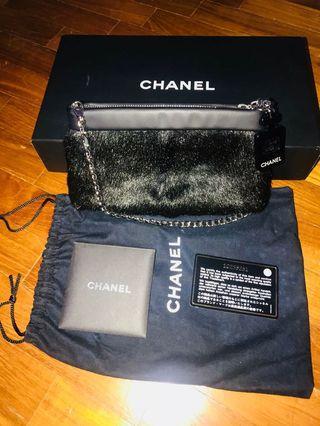 Chanel evening clutch bag