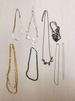 項鍊 飾品 合售