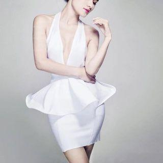 🚚 Night gown sexy woman White Dress