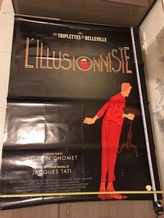 法國動畫電影海報 L'ILLUSIONNISTE