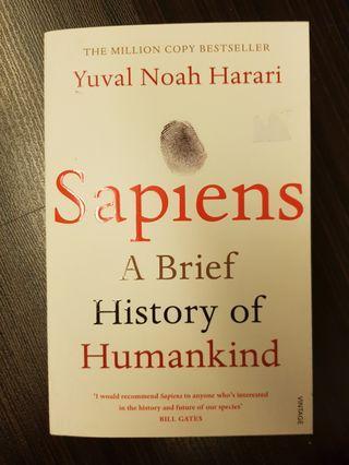 014. Sapiens : A Brief History of Humankind, By Yuval Noah Harari