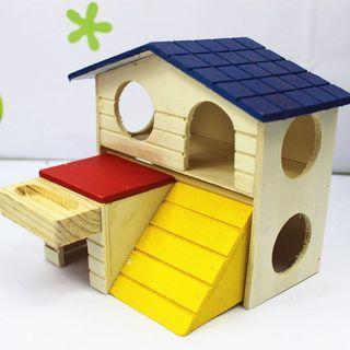 Hamster wood house