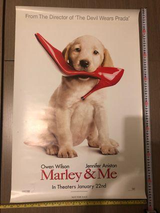 狗狗電影海報Marley & Me