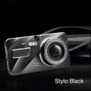 Dual Lens Touchscreen Car Cam