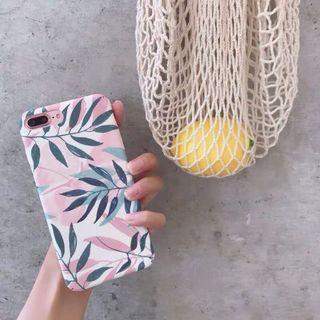 🚚 iPhone 6 Plus floral case