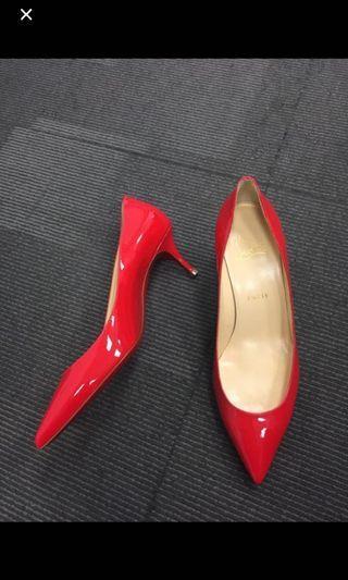 Christian Louboutin red heels 38.5