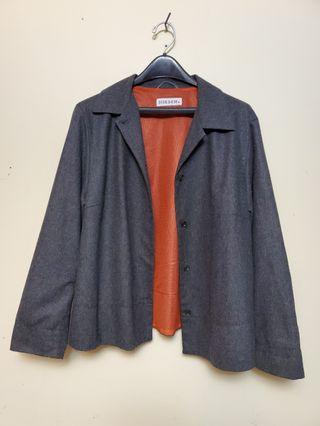 Gray Blazer w/ mesh inner lining