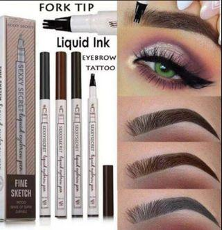 Waterproof Fork Tip Eyebrow