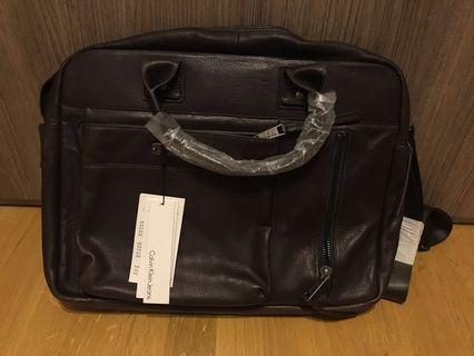 CKJ [NEW] Calvin Klein Jeans briefcase 公事包