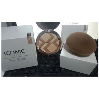 Iconic London Luminous Powder Palette + Pro Puff [NEW & AUTHENTIC] PRICE IS FIRM, NO SWAPS