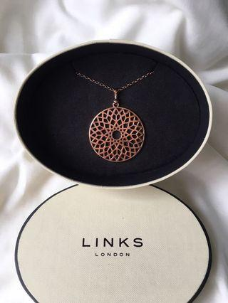 Links of London - Timeless rose gold vermeil large necklace #newbieApr19