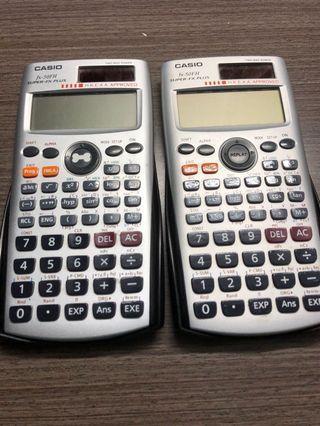 Calculator FX-50FH DSE計數機