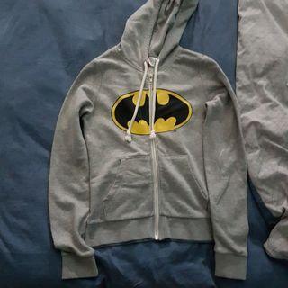 Batman Hoodie Jacket in Grey