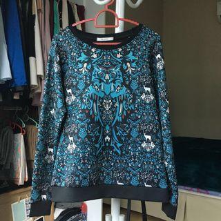 Blue Padini Filanto Sweatshirt