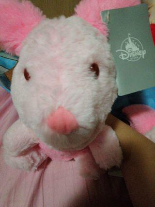 粉紅小豬公仔