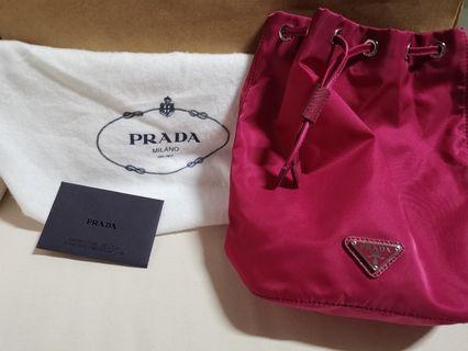 bace576258b Brand New - Hot Pink Prada Wrislet Bag  1NA369