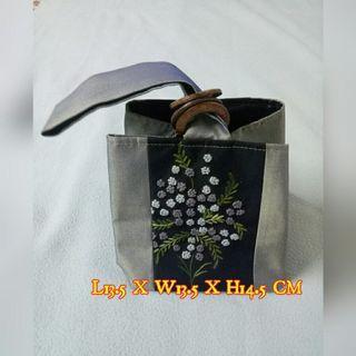 Silk Small Bag (Hand made)