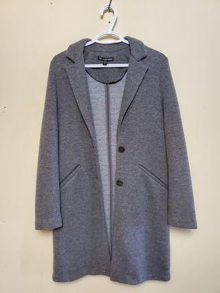 Gray Zara Coat size XS