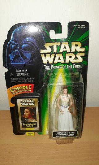 Star Wars POTF - Princess Leia in Ceremonial Dress with Medal of Honor