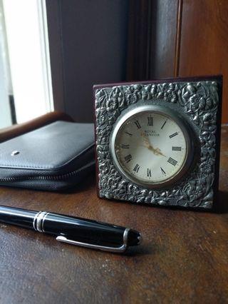 Royal Selangor Celebration Desk Clock