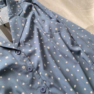 Wednesday's Girl Retro Collar Top
