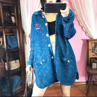 正品vintage古著日本二手名牌Chanel冷外套