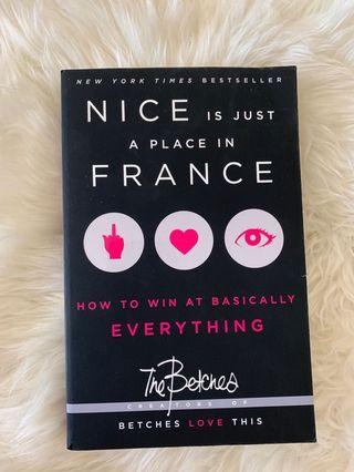 Nice is just a place in France book