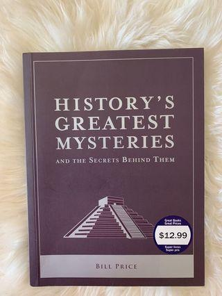 Greatest mysteries book