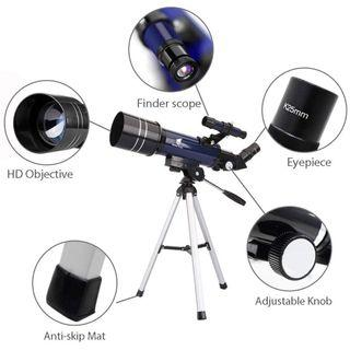 GEERTOP Ultra-Clear Astronomical Refractor Tabletop Telescope with Tripod Finder Scope for Beginner Sky Gazers Teens