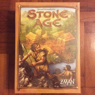 Stone Age board game (NOT FAKE, slightly dented)