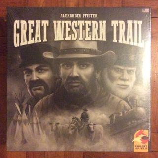 Great Western Trail board game (slightly dented)