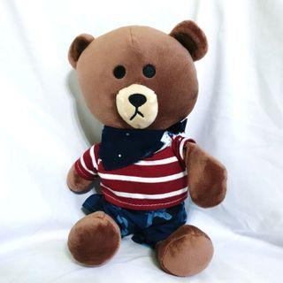 Line Bear Outfit Plush Soft Toy
