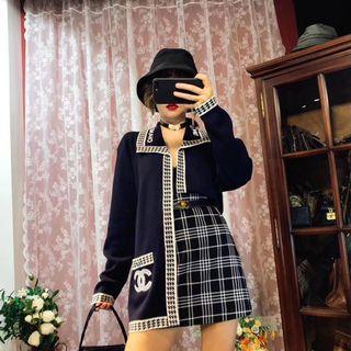 正品vintage古著日本二手名牌Chanel外套