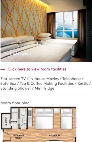 Genting Highlands First World Hotel Room