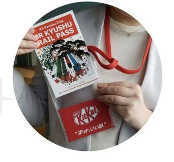 [全新] Kit-Kat x JR九州 卡套
